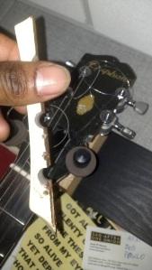 Captain Kirk's guitar