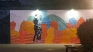 bachelor mural