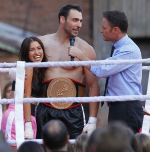 Semi-Exclusive... 51681497 'The Bachelorette 2015' starts filming episodes for the upcoming season in Los Angeles, California on March 15, 2015. Kaitlyn Bristowe, Chris Harrison and Laila Ali were on hand as the guys were put through a boxing match to decide who will get their shot with Kaitlyn. If one of the fights a contestant gets knocked out. 'The Bachelorette 2015' starts filming episodes for the upcoming season in Los Angeles, California on March 15, 2015. Kaitlyn Bristowe, Chris Harrison and Laila Ali were on hand as the guys were put through a boxing match to decide who will get their shot with Kaitlyn. If one of the fights a contestant gets knocked out. Pictured: Chris Harrison, Kaitlyn Bristowe FameFlynet, Inc - Beverly Hills, CA, USA - +1 (818) 307-4813