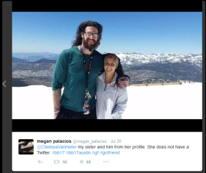 Austin and girlfriend