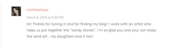Sand stories